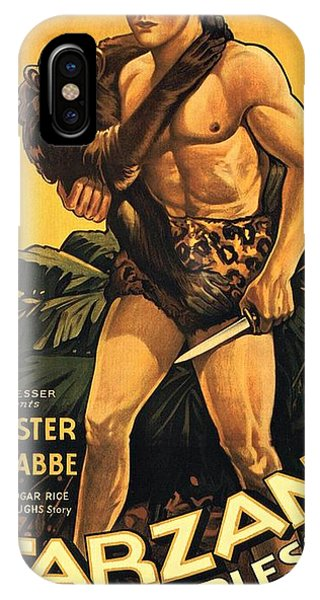 Tarzan The Fearless  IPhone Case
