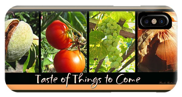 Taste Of Things To Come - Photography - Collage IPhone Case