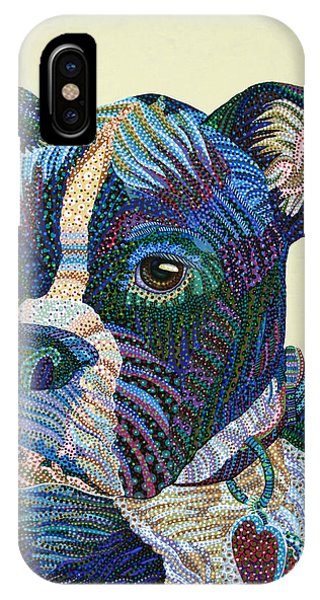 Tater - Portrait Of A Boxer IPhone Case