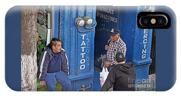 Tatoo Guys IPhone Case