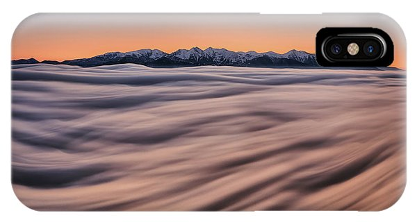 Morning Mist iPhone Case - Tatras Symphony by Peter Kov??ik