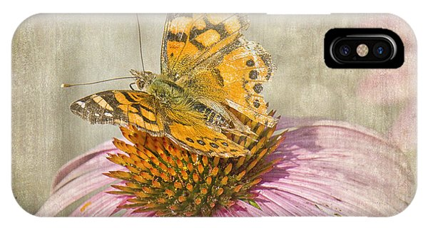 Tattered Butterfly IPhone Case