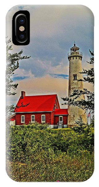 Tawas Point Light Retro Mode IPhone Case