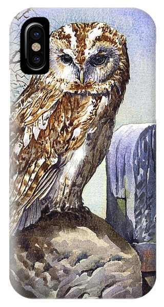 iPhone Case - Tawny Owl by Anthony Forster