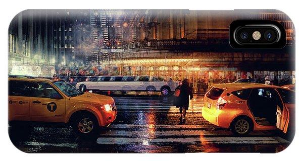 Cab iPhone Case - Taxi by Massimo Della Latta