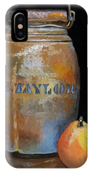 Taylor Jug With Pear IPhone Case