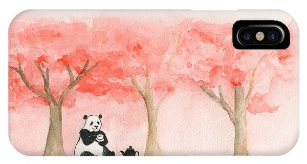 Tea Time For Mei IPhone Case