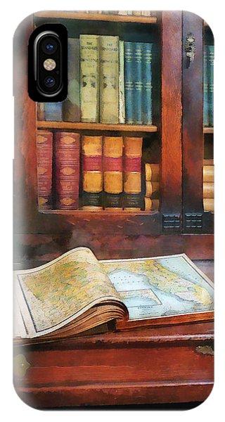 Teacher - Geography Book IPhone Case