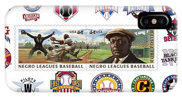 Teams Of The Negro Leagues Phone Case by Mike Baltzgar