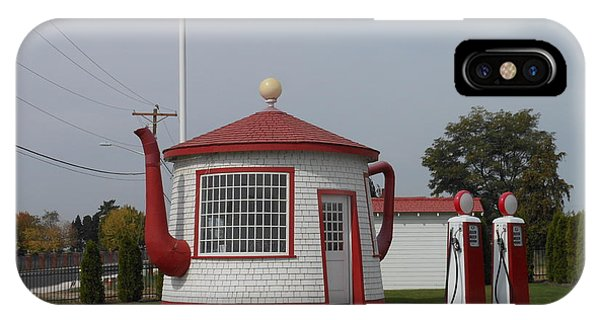 Teapot Dome Gas Station 2 IPhone Case