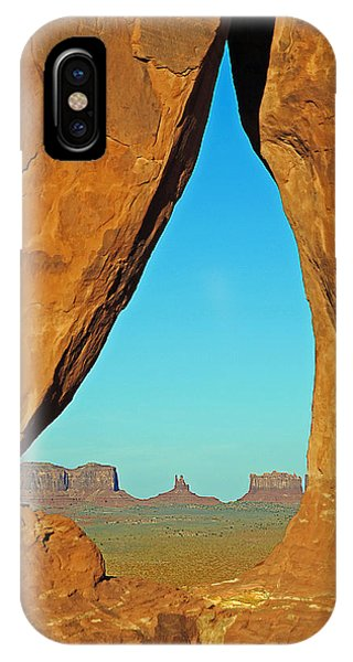 Tear Drop Arch Monument Valley IPhone Case