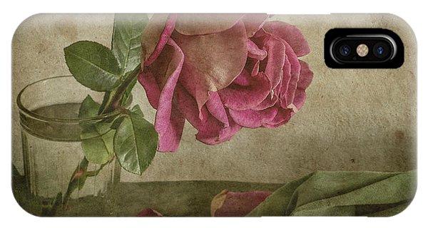 Petals iPhone Case - Tear Of Rose by Igor Tokarev