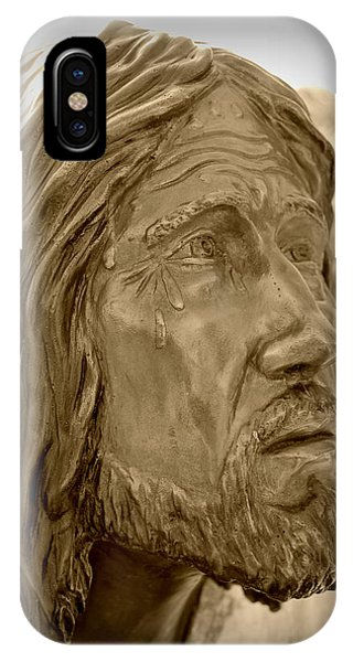 Tears Of Jesus IPhone Case