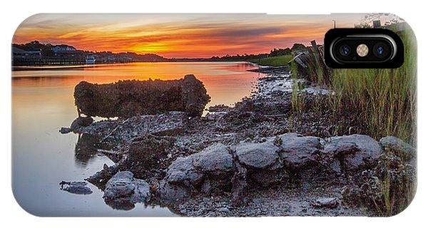 Technicolor Sunrise IPhone Case