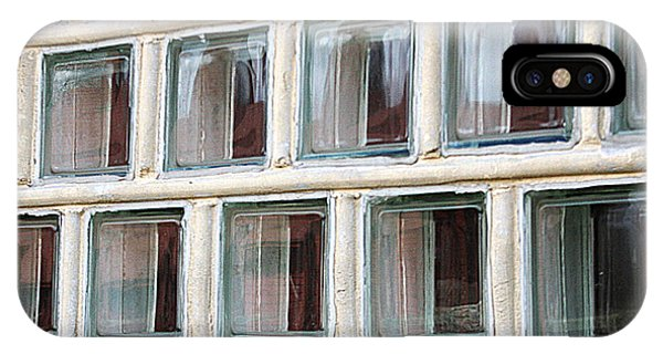IPhone Case featuring the photograph Technocratic Windows by William Selander