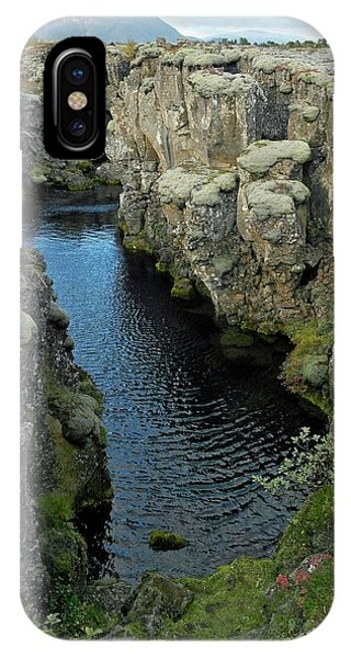 Tectonic Plate Boundary IPhone Case