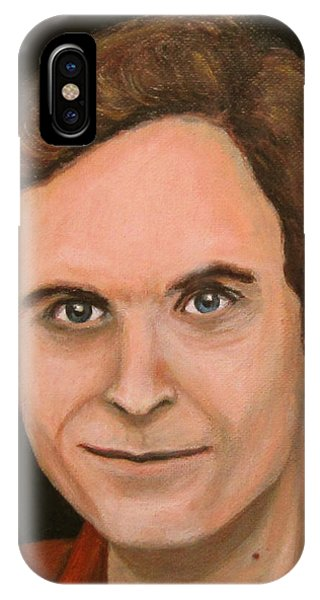 Ted Bundy iPhone Case - Ted Bundy by Norman Twisted