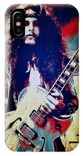 Ted Nugent - Red White And Blue IPhone Case