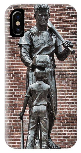 Ted Williams Statue - Boston IPhone Case