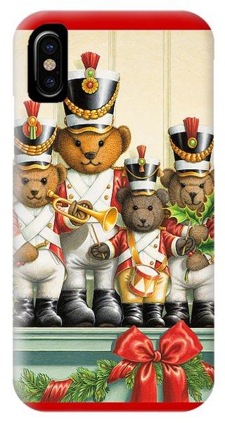 Teddy Bear Band IPhone Case