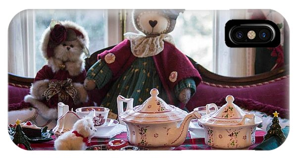 Teddy Bear Tea Party IPhone Case