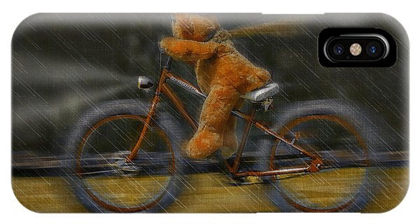 Teddy Going Hard 01 IPhone Case