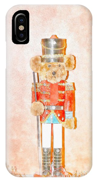 Teddy Nutcracker IPhone Case