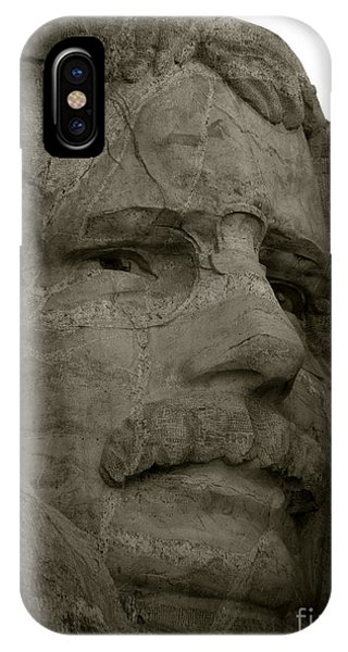 Teddy Roosevelt In Black And White IPhone Case