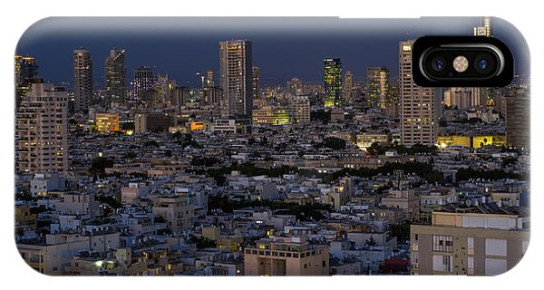 Tel Aviv At The Twilight Magic Hour IPhone Case