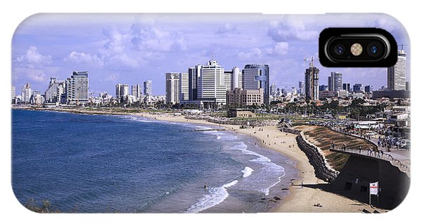 Tel Aviv Beach IPhone Case