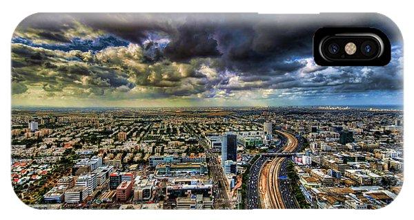 Tel Aviv Blade Runner IPhone Case