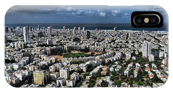 Tel Aviv Center IPhone Case