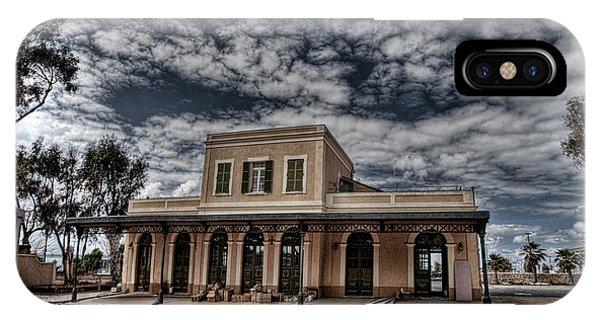 Tel Aviv First Railway Station IPhone Case