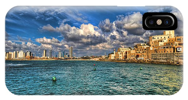 Tel Aviv Jaffa Shoreline IPhone Case