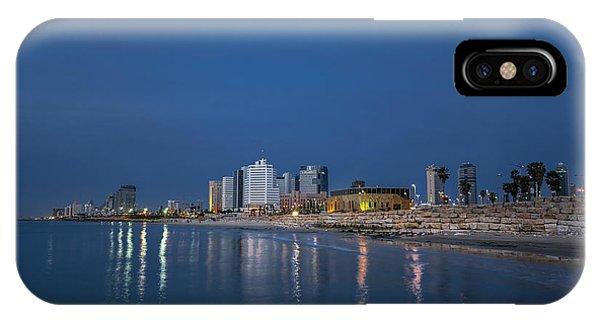 Tel Aviv The Blue Hour IPhone Case