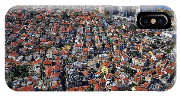 Tel Aviv - The First Neighboorhoods IPhone Case