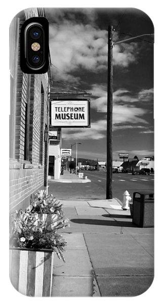 Telephone Museum IPhone Case