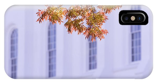 Temple iPhone Case - Temple Accent by Chad Dutson
