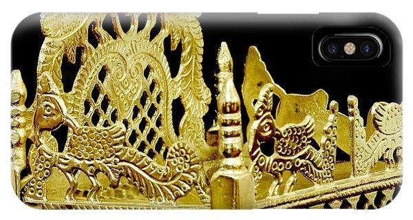 Temple Art - Brass Handicraft IPhone Case