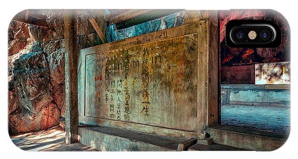 Temple Cave IPhone Case