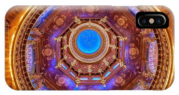 Temple Ceiling IPhone Case