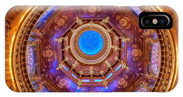Temple Ceiling IPhone Case