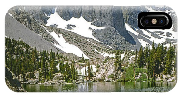 2m6437-temple Crag IPhone Case