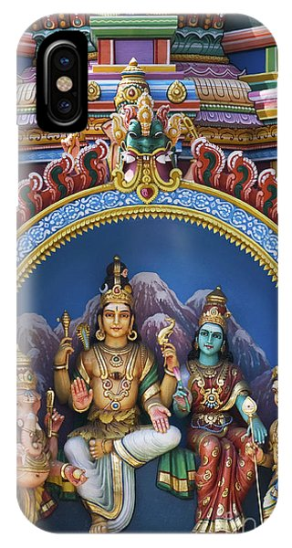 Temple Deity Statues India IPhone Case