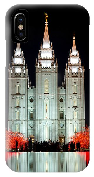 Temple Lights IPhone Case