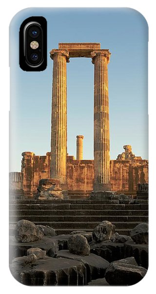 Greece iPhone Case - Temple Of Apollo by David Parker