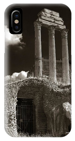 Temple Of Castor And Polux IPhone Case