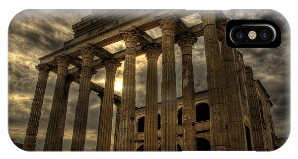 Temple Of Diana IPhone Case