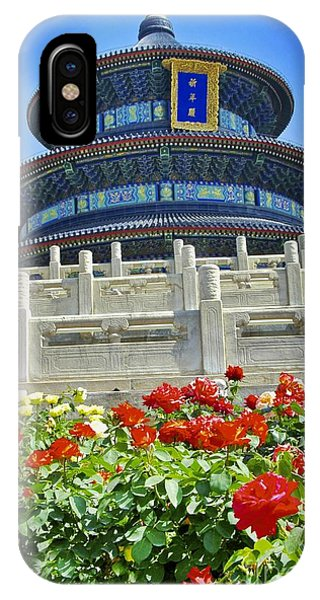 Temple Of Heaven  IPhone Case