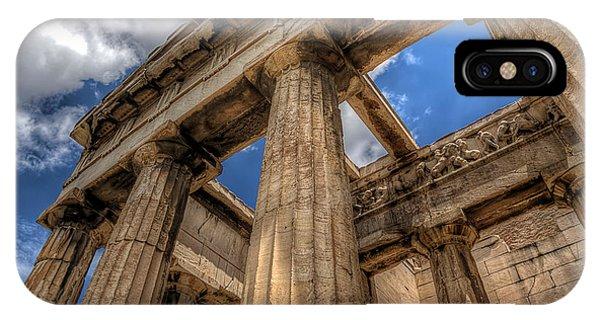 Temple Of Hephaestus IPhone Case